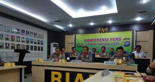 Ini Data Polisi di Riau yang Dipecat Selama Tahun 2016